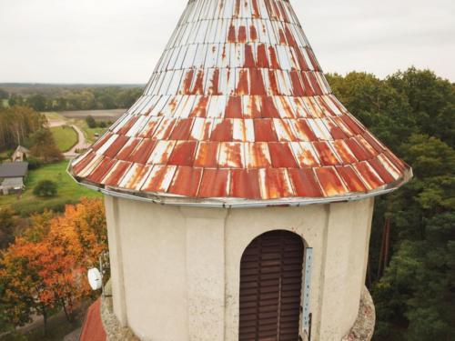Remont wieży kościoła w Grabowcu - 2019