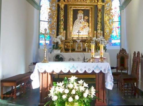 Nowe sedilia w kościele w Złotorii - 2018