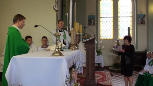 Pożegnanie ks. Arkadiusza - 24.08.2014