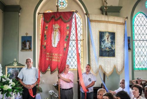Wprowadzenie relikwii św. Jana Pawła II - 10.08.2014
