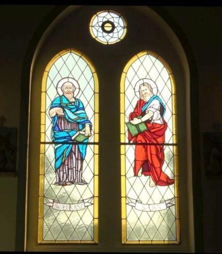 Św. Łukasz i Św. Jan