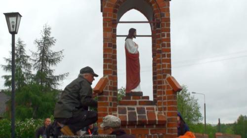 Remont konserwatorski kapliczki Najświętszego Serca Pana Jezusa -2013
