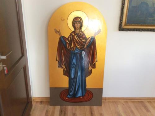 Zakup ikony Matki Bożej do głównego ołtarza w Grabowcu - 2020