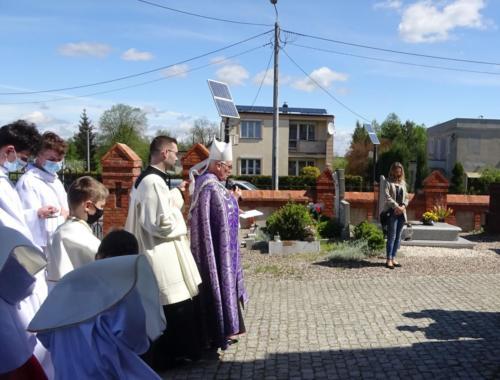 Wizytacja - Msza św. o godz. 10.00