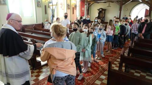 Wizytacja - błogosławieństwo dzieci, 15.05.2021