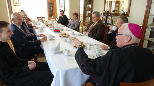 Wizytacja-spotkanie z Radą Parafialną, 15.05.2021