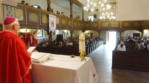 Wizytacja-udzielenie Sakramentu Bierzmowania, 15.05.2021