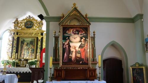 Nawiedzenie Obrazu Św. Rodziny - Obraz