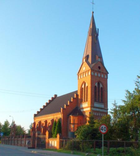 Wieża kościoła w Złotorii rok po remoncie - 26.08.2013