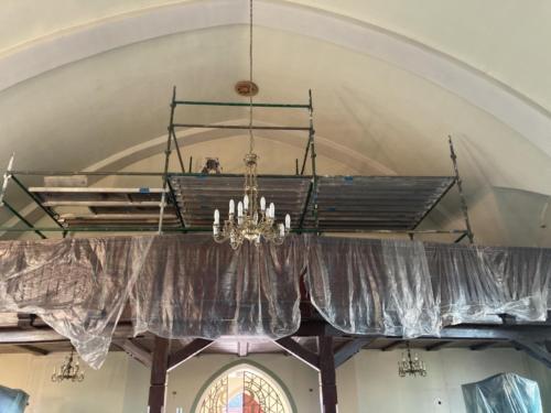 Malowanie kościoła
