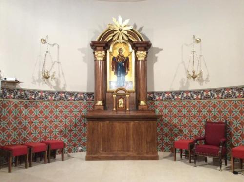 Remont ołtarza w kościele w Grabowcu