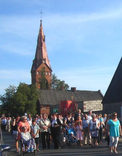Peregrynacja w Złotorii - 29.-30.08.2012
